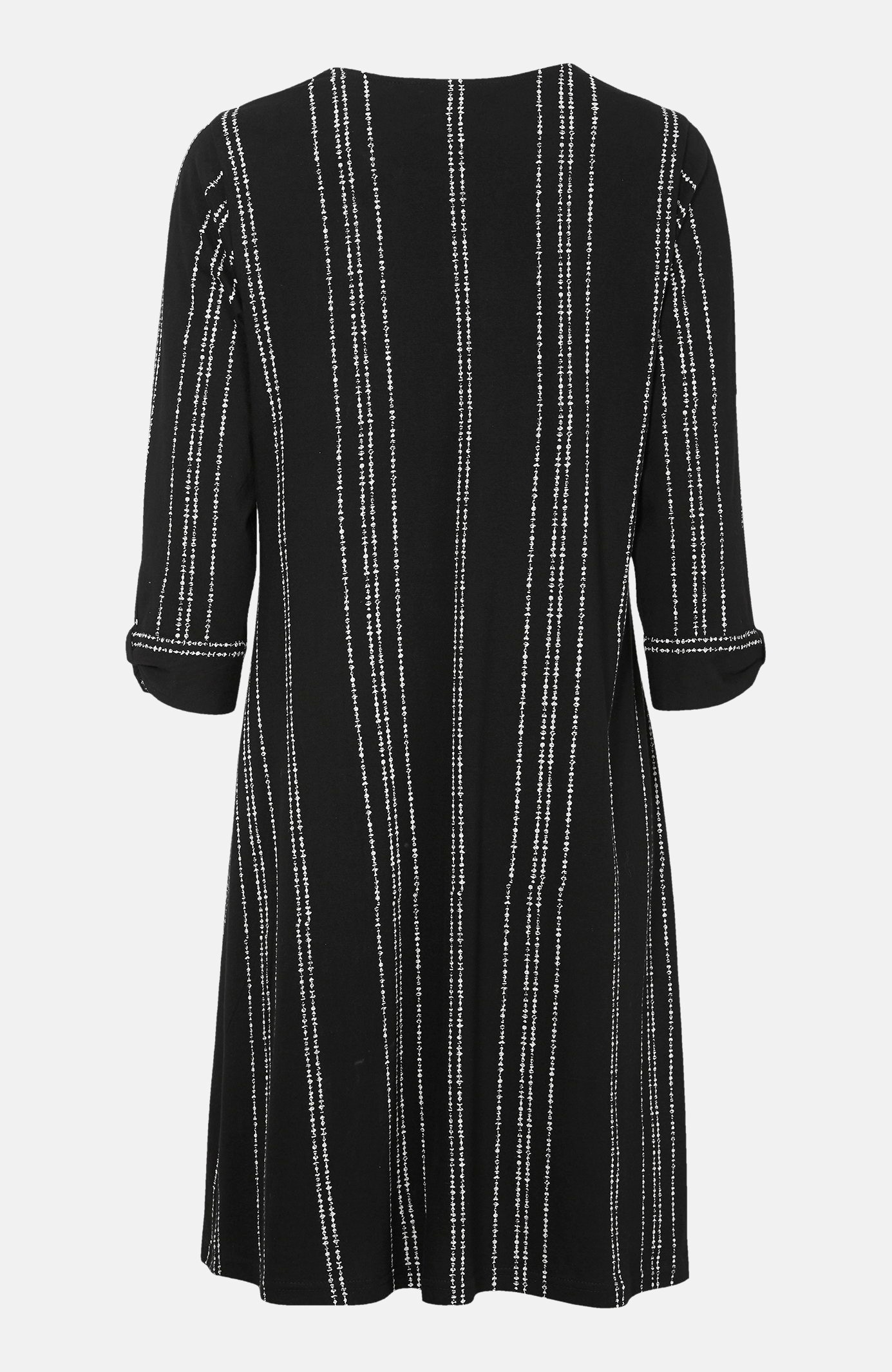 Svītraina trikotāžas kleita