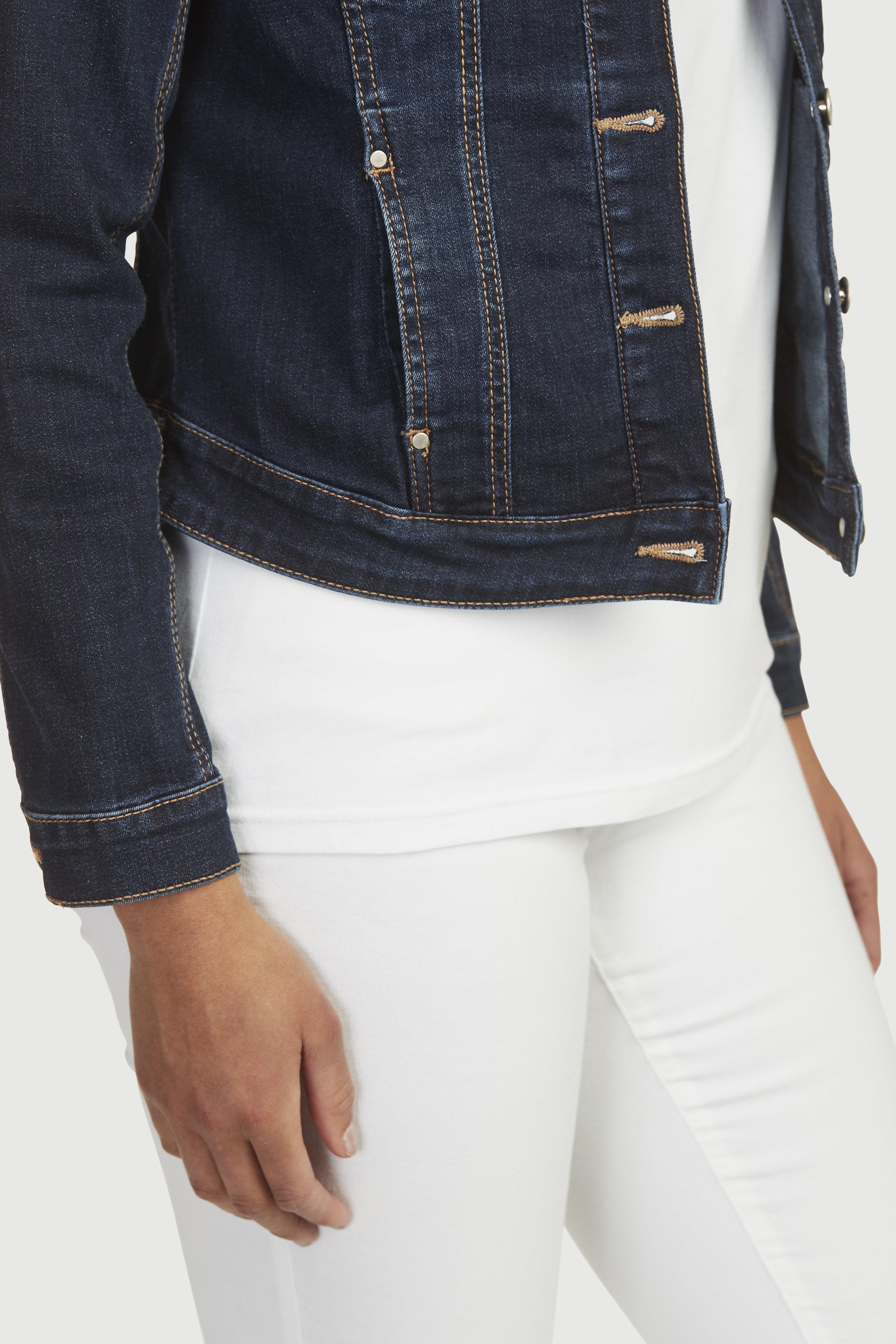 Elastīga džinsa jaka