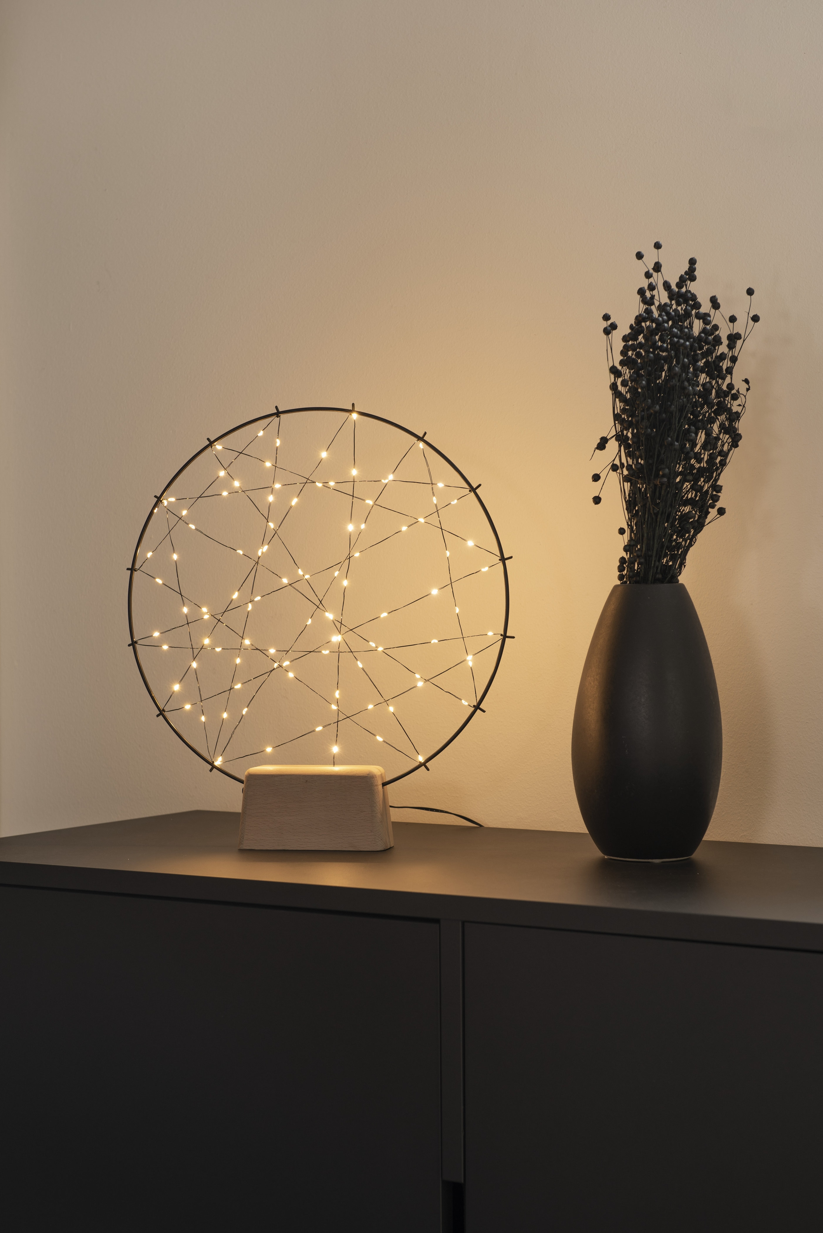 Dekoratīvs apaļš apgaismojums Dreamcatcher 100