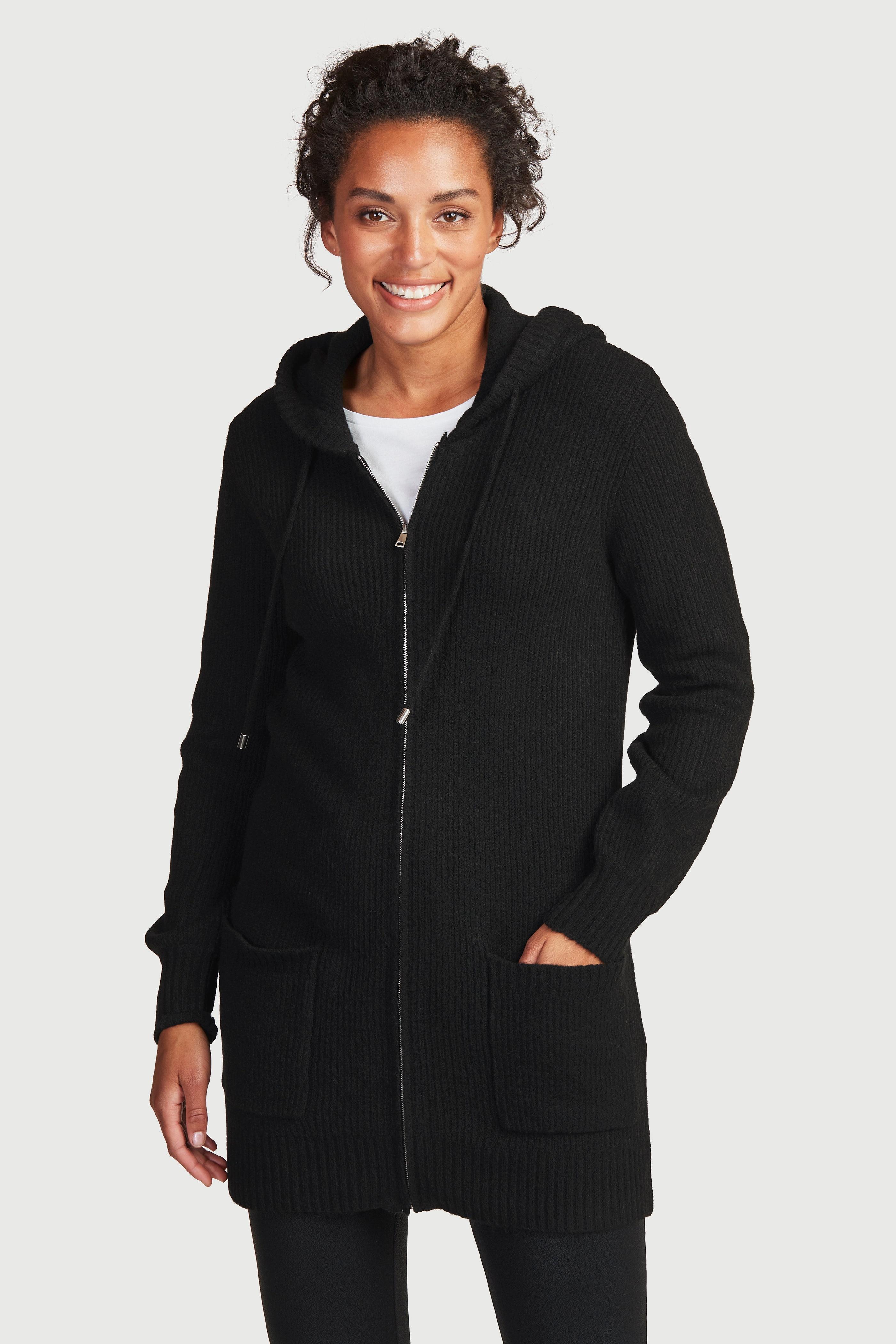 Mīksta jaka ar kapuci