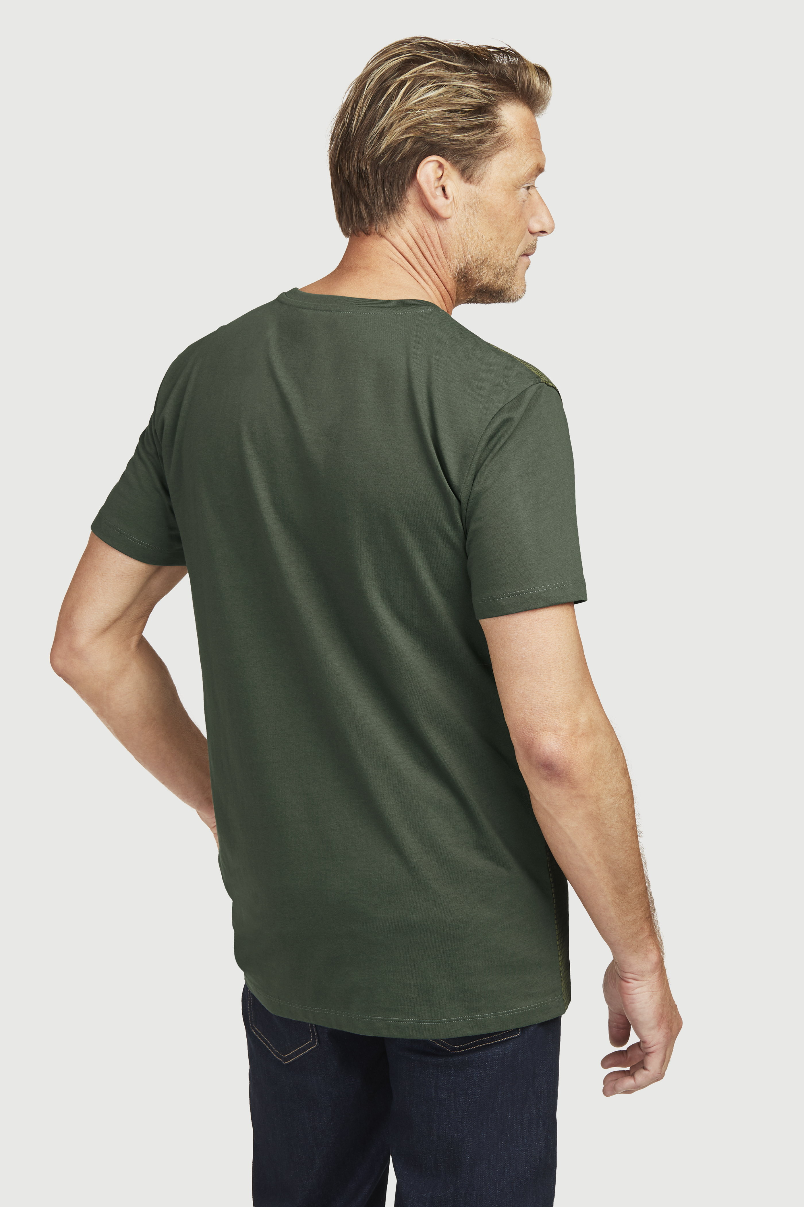 Ērts T-krekls no trikotāžas