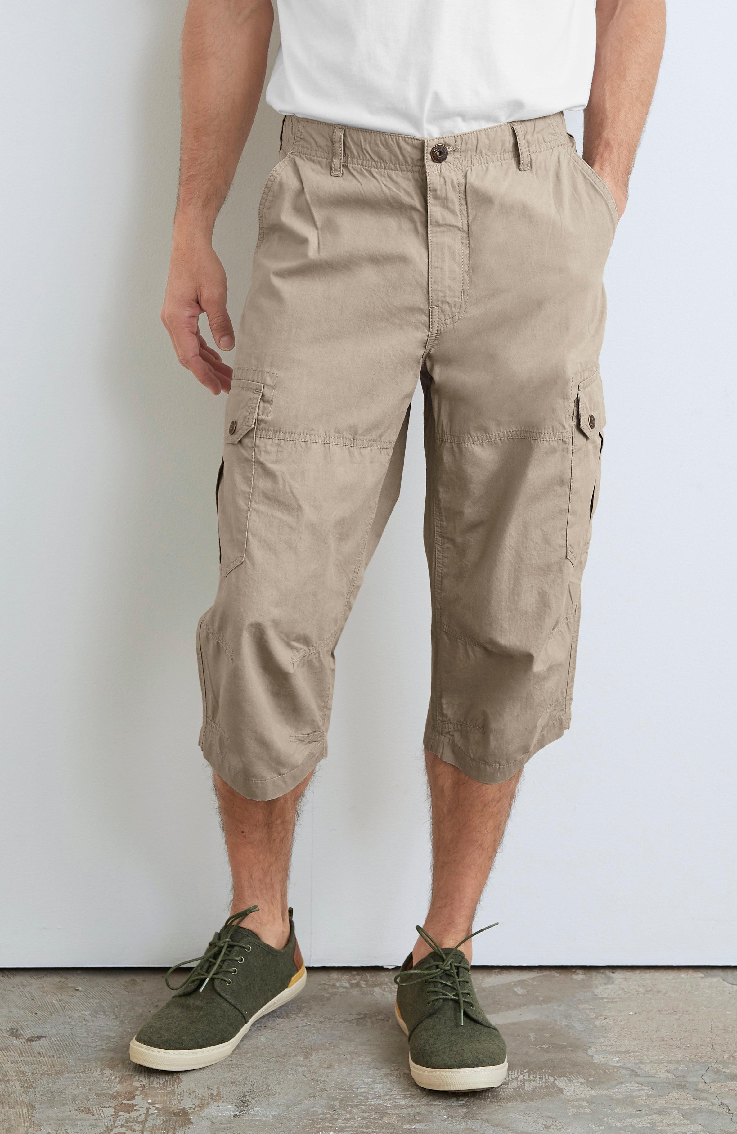 Šorti ar daudzām kabatām